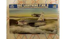Сборная модель самолета BAC Lightning, сборные модели авиации, Trumpeter, scale72