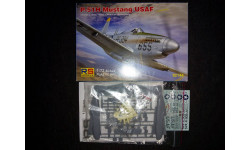 Сборная модель самолета P-51H Mustang, сборные модели авиации, RS-Model, 1:72, 1/72