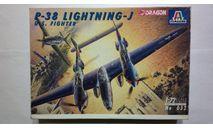 Сборная модель P-38J Lightning, сборные модели авиации, Italeri, scale72