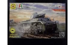 Сборная модель танка PzKpfw 3, сборные модели бронетехники, танков, бтт, Моделист, scale72
