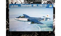 Сборная модель истребителя Hawker Sea Hawk Mk.100, сборные модели авиации, Trumpeter, scale48