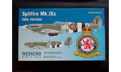 Сборная модель истребителя Spitfire Mk.IXC