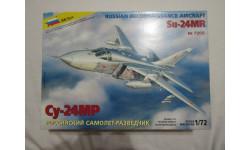 Сборная модель Су-24МР, сборные модели авиации, Звезда, scale72