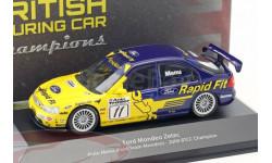 Ford Mondeo Zetec V6 Super Touring #11 BTCC Champion 2000 Alain Menu, масштабная модель, Atlas, scale43