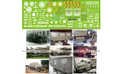 Машины Ленд-Лиза: Студебекер,Декаль, фототравление, декали, краски, материалы, 1:43, 1/43, Modellux