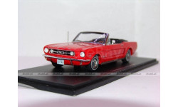 Ford Mustang Convertible 1966,Spark 1:43, масштабная модель, scale43
