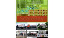Декаль Газовозы, фототравление, декали, краски, материалы, 1:43, 1/43, Modellux