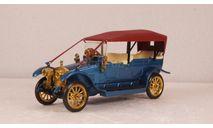 Руссо-балт С24-40 синий металлик/красный, Конверсия 1:43, масштабная модель, Руссо Балт, Конверсии мастеров-одиночек, 1/43