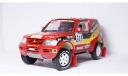 Mitsubishi Pajero Rallye Raid №205 , Solido 1:18, масштабная модель, 1/18