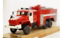УРАЛ 4320 Автоцистерна пожарная АЦ-8-40, МБК 1:43, масштабная модель, 1/43