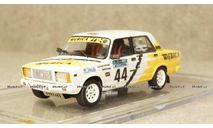 Ваз 2107 31th International Albena Rally 2000 D.Danchev/G.Ivanov, MK Scale Model 1:43, масштабная модель, MK Scale Models, scale43