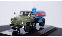 ГАЗ 53А АЦ-4,2(53А) цистерна бензовоз, 1980 г., 105320 DiP Models 1:43, редкая масштабная модель, scale43