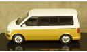 Volkswagen T6 Multivan 2017 white/gold, CLC351N, IXO 1:43, масштабная модель, scale43