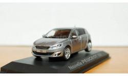Peugeot 308, Norev 1:43, масштабная модель, 1/43