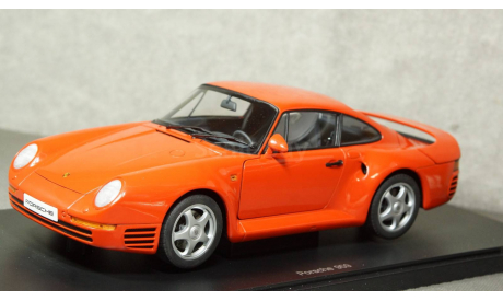 Porsche 959 1986 red, Auto Art 1:18, редкая масштабная модель, Autoart, scale18