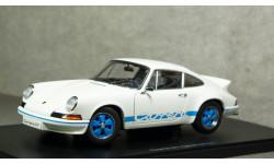 Porsche 911 Carrera RS 2.7 1973 white/blue, Auto Art 1:18