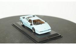 Lamborghini P132 1986 lightblue, WhiteBox 1:43, масштабная модель, 1/43