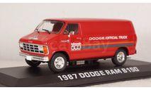 Dodge RAM B150 Official Truck Indy 500 1987, 86576, Greenlight 1:43, масштабная модель, Greenlight Collectibles, scale43