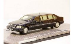 Mercedes Benz S500 Pullman Guard W140 Президент Б. Ельцин, Dip GON140