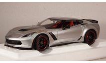 Chevrolet Corvette C7 Z06 blade silver, 71258, Auto Art 1:18, редкая масштабная модель, Autoart, scale18