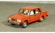ВАЗ 2105 красный, масштабная модель, Тантал, scale43