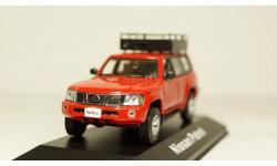 Nissan Patrol Y61 красный, J-COLLECTION 1:43