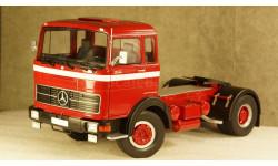 Mercedes LPS 1632 1969 red/black/white, RK180021, Road Kings 1:18