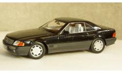 Mercedes 500 SL (R129), metallic black, 1993, KKDC180371, KK-Scale 1:18