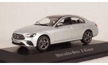 Mercedes E-Klasse W213 MOPF hightech silver, B66960498, IScale 1:43, масштабная модель, Mercedes-Benz, scale43