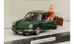Porsche 911 Troutman & Barnes 4 deurs groen 1967 edition Merry X-mas,Matrix 1:43, масштабная модель, 1/43