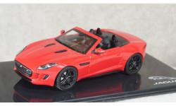 Jaguar F-type V8 S, Italian Racing Red, JDFTV8R, IXO 1:43