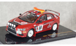 Mitsubishi Lancer Evo X #00 H.Hiyoshi Rally Japan Safety car 2007, KB1043, IXO 1:43