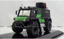 Петрович 204-50 4x4 черно-зеленый, 220450, DiP Models 1:43, редкая масштабная модель, scale43