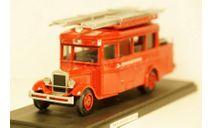 ЗиС 8 автобус Пожарная охрана, Miniclassic 1:43, масштабная модель, 1/43