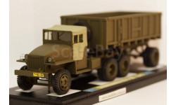 Studebaker US6 U6 тягач 6 х 4 Советская Армия Тропическая кабина, масштабная модель, 1:43, 1/43, МБК
