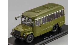 КАвЗ 3976 хаки армейский автобус, SSM 4027 1:43, масштабная модель, Start Scale Models (SSM), scale43