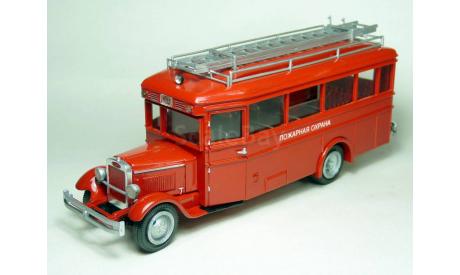 ЗиС - 8 'Пожарный штаб', масштабная модель, Miniclassic, scale43