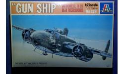 Модель штурмовика 'Gun Ship' Mitchell B-25 H/J Versions, сборные модели авиации, 1:72, 1/72, Italeri