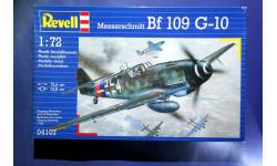 Модель истребителя  Messerschmitt Bf-109G-10, сборные модели авиации, 1:72, 1/72, Revell