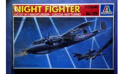 Модель ночного истребителя Dornier Do 217 N-1 Nachtjäger, сборные модели авиации, scale72, Italeri