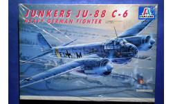 Модель тяжёлого истребителя Junkers Ju-88 C-6, сборные модели авиации, 1:72, 1/72, Italeri