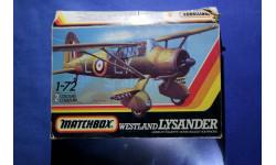 Модель Westland Lysander, сборные модели авиации, scale72, Matchbox