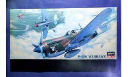 Модель истребителя P-40N Warhawk, сборные модели авиации, scale72, Hasegawa