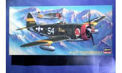 Модель истребителя P-47D Thunderbolt, сборные модели авиации, scale72, Hasegawa