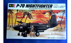 Модель ночного истребителя P-70 Nightfighter, сборные модели авиации, 1:72, 1/72, Revell, Douglas A-20C Havoc