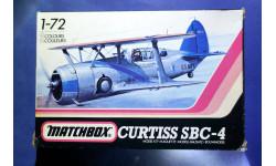 Модель Curtiss SBC-4, сборные модели авиации, scale72, Matchbox