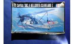 Модель Curtiss SBC-4 Helldiver, сборные модели авиации, 1:72, 1/72, Heller