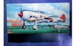 Модель истребителя Ki-44 Shoki / Tojo, сборные модели авиации, scale72, Hasegawa