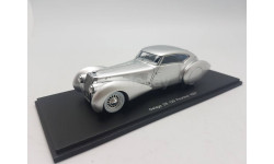 Delage D8 120 Pourtout 1937, масштабная модель, 1:43, 1/43, Spark