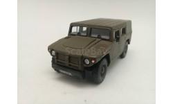 ГАЗ-2330 'Тигр' тент, хаки, масштабная модель, scale43, Киммерия